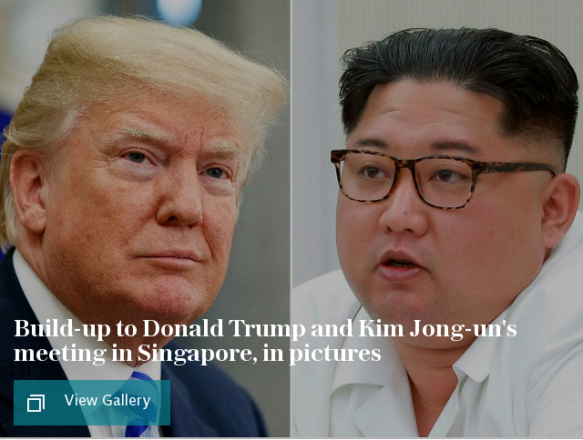 Trump-Kim summit in pictures: Best photos from Donald Trump and Kim Jong-un's meeting in Singapore