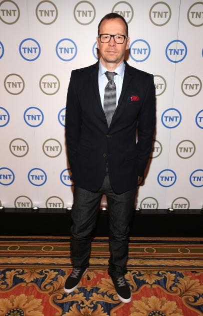 Donnie Wahlberg, Executive Producer of 'Boston's Finest', attends Turner Broadcasting's 2013 TCA Winter Tour at Langham Hotel, Pasadena, Calif., on January 4, 2013 -- Getty Images
