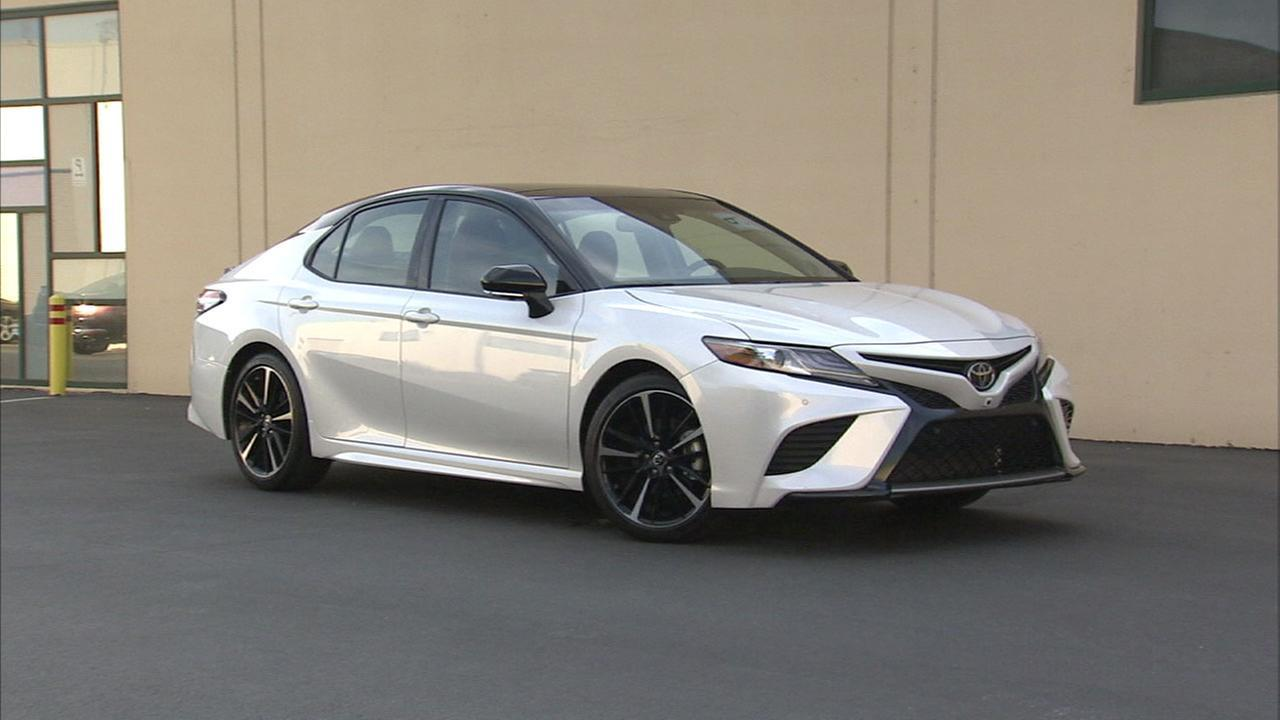 "You know the term VIP, well the Toyota Camry could be considered a ""VIC"" - for very important car."