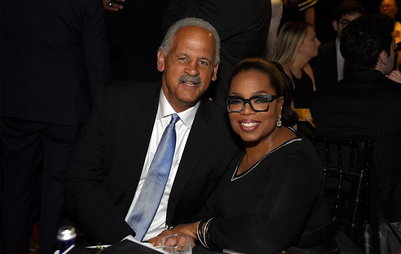 NEW YORK, NY - MAY 14: Stedman Graham and Oprah Winfrey attend The Robin Hood Foundation's 2018 benefit at Jacob Javitz Center on May 14, 2018 in New York City. (Photo by Kevin Mazur/Getty Images for Robin Hood)