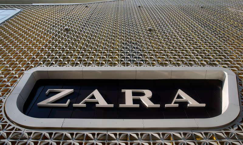 Zara owner Inditex says store sales recovering as it returns to profit