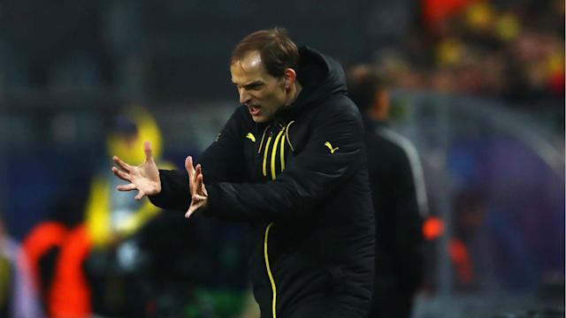 Borussia Dortmund played just a day after an attack on their bus hospitalised Marc Bartra and Thomas Tuchel hailed his players' resolve.