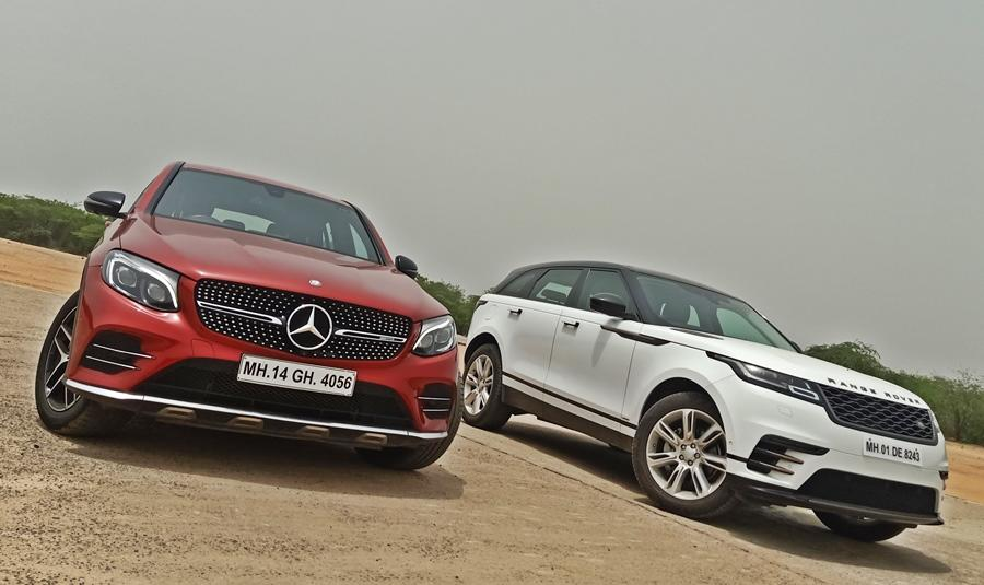 The Range Rover Velar and Mercedes GLC 43 AMG represent the new breed of SUVs which have style as their main focus and both look stunning.