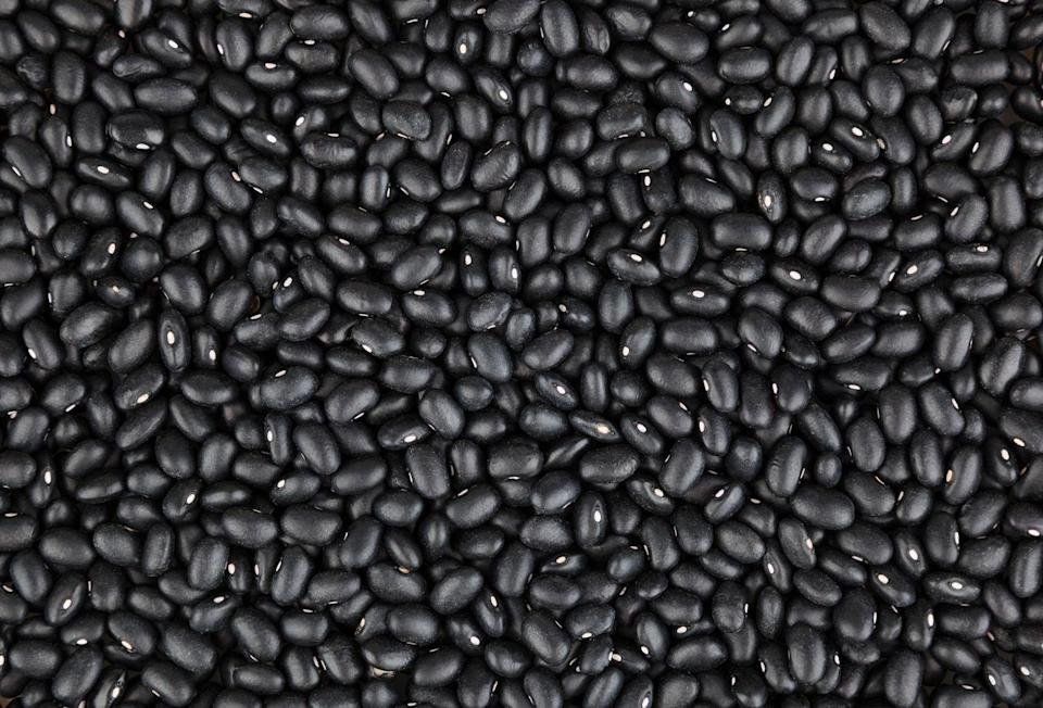 """<p>""""Studies have linked black beans with protection against heart disease, diabetes and weight gain,"""" says Anyia. They provide 9g of plant protein per serving, as well as anti-inflammatory phytonutrients and plenty of resistant starch, which offsets the digestive impact of a meat-heavy diet – so you can have your steak and eat it. Throw them in tacos and tostadas or blend with lime, coriander, garlic and chilli and serve with tortilla chips.</p>"""