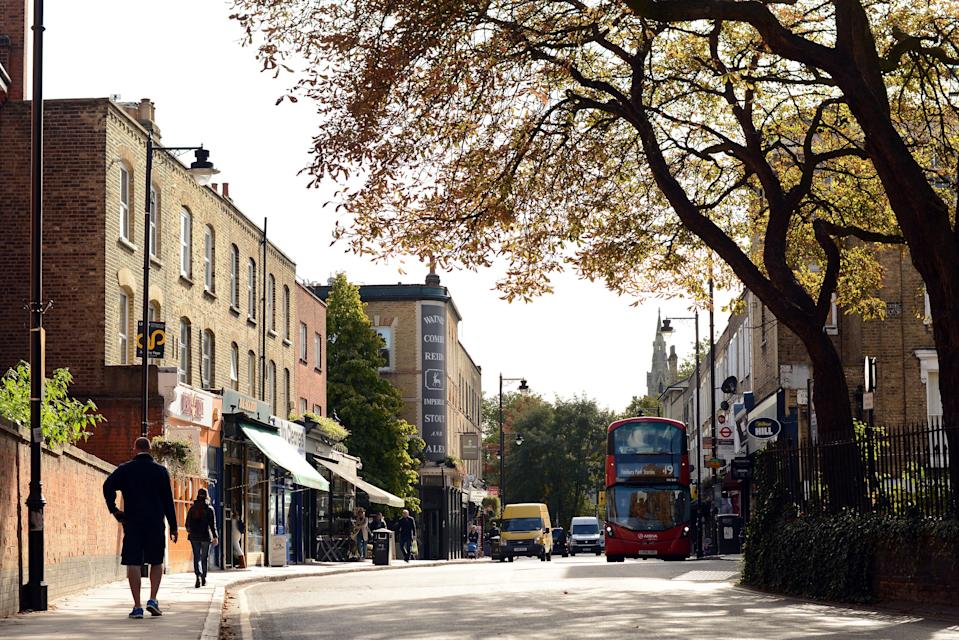 <p>Highbury, in north London, has seen buyer interest leap by 66 per cent since the start of the year</p> (Daniel Lynch)