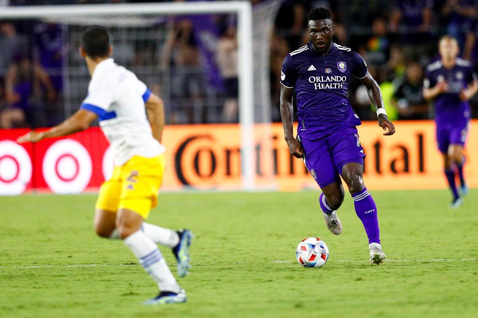 Daryl Dike scored twice in Orlando City's demolition of the San Jose Earthquakes on Tuesday night.