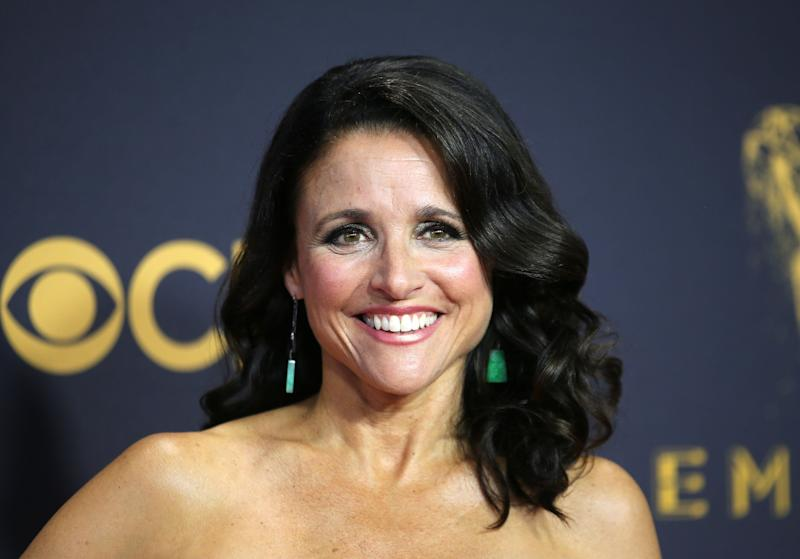 """Actress Julia Louis-Dreyfus says she """"feels good"""" after completing her breast cancer treatment earlier this year. (Photo: Mike Blake/Reuters)"""