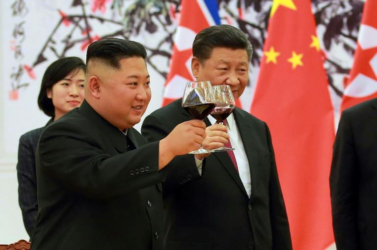 The allies have sought to repair ties strained by Pyongyang's nuclear tests and Beijing's support of subsequent UN sanctionsMore