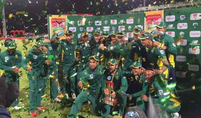 South Africa won ODI series against New Zealand