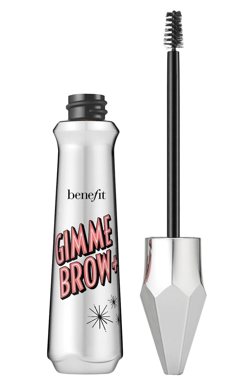 """<p><strong> The Product: </strong> <span>Benefit Gimme Brow+ Volumizing Eyebrow Gel</span> ($14–$38)</p> <p><strong> The Rating: </strong> 4.6 stars </p> <p><strong> Why Customers Love It: </strong> Benefit's Gimme Brow gave customers a fuller brow that is more natural. """"It's great to use to fill in the brow and give even color and texture for those days that you don't want to do a full brow makeover. Great for a natural brow look for everyday.""""</p>"""