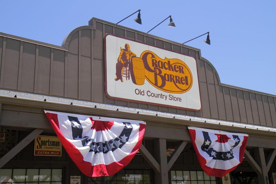 <p>Yes, indeed, Cracker Barrels are open for business.</p>
