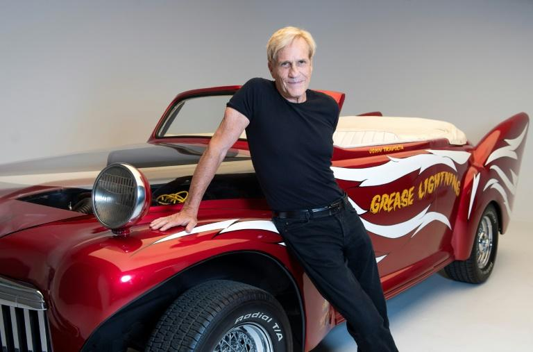 "US director Randal Kleiser with the ""Grease Lightning"" car as the hit movie turns 40"