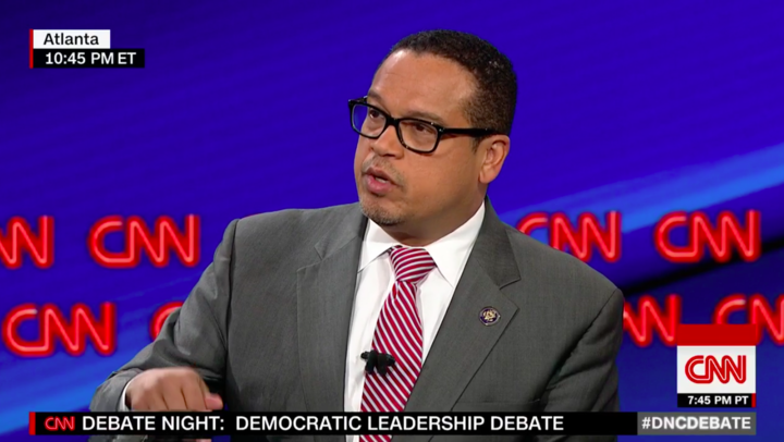Rep. Keith Ellison, D-Minn. (Screenshot: CNN/Twitter)