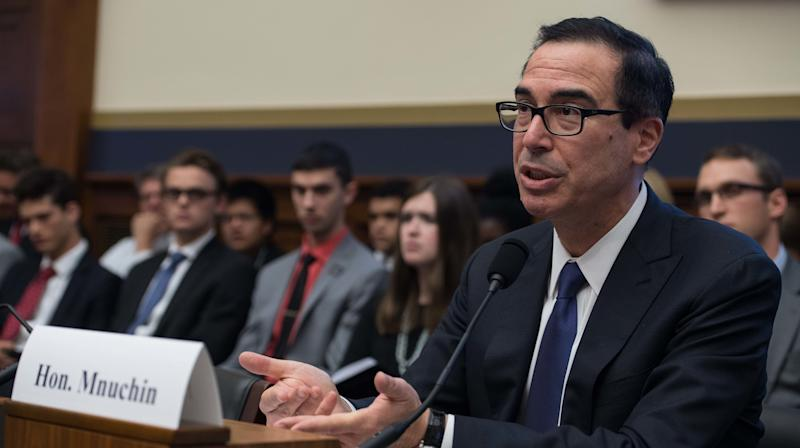 Steve Mnuchin Says Honeymoon Request For Government Plane Was For 'National Security'