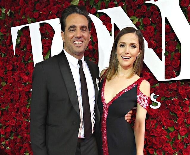 Bobby Cannavale and Rose Byrne at the Tony Awards on June 12, 2016. (Photo: Cindy Ord/Getty Images for Nordstrom )