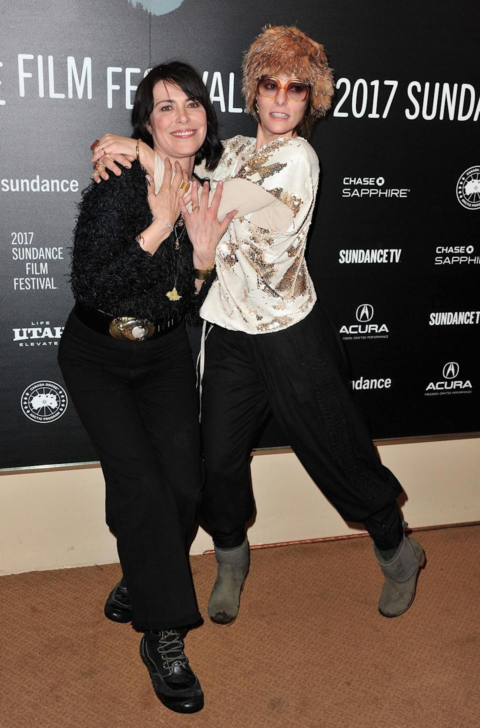 <p>Sundance regular Posey poses with her fellow actress on the carpet for 'Columbus' on Jan. 22. (Photo: Jerod Harris/Getty Images) </p>  <p>John Cho and Haley Lu Richardson</p><p> The actors embrace before 'Columbus' screening. (Photo: Jerod Harris/Getty Images) </p>  <p>Leslie Mann, Judd Apatow, and Iris Apatow</p><p> The Jan. 20 premiere of 'The Big Sick' premiere is family affair. (Photo: George Pimentel/Getty Images) </p>  <p>Chante Adams, Roxanne Shante, and Nia Long</p><p> Adams and Long pose with the real Roxanne Shante at the 'Roxanne Roxanne' premiere on Jan. 22. (Photo: Alberto E. Rodriguez/Getty Images) </p>  <p>Shailene Woodley</p><p> The actress-activist attends the Standing Rock Event at Zoom Restaurant on Jan. 23. (Photo by Alberto E. Rodriguez/Getty Images) </p>  <p>Chloë Sevigny</p><p> The 'Bloodline' star attends the premiere of 'Beatriz at Dinner' on Jan. 23. (Photo: Nicholas Hunt/Getty Images) </p>  <p>Connie Britton</p><p> The 'Nashville' star also makes the scene for 'Beatriz at Dinner.' (Photo: George Pimentel/Getty Images) </p>  <p>Jay Duplass, Connie Britton, John Lithgow, and Chloë Sevigny</p><p> The cast of 'Beatriz at Dinner' takes a selfie at the premiere. (Photo: George Pimentel/Getty Images) </p>  <p>Salma Hayek</p><p> The star arrives for 'Beatriz at Dinner.' (Photo: George Pimentel/Getty Images) </p>  <p>Tim Robbins, Lois Smith, Geena Davis, and Jon Hamm</p><p> The cast of 'Marjorie Prime' poses at the Jan. 23 premiere. (Photo: George Pimentel/Getty Images) </p>  <p>Mark Hamill</p><p> The 'Star Wars' icon attends the 'Brigsby Bear' premiere on Jan. 23. (Photo: Nicholas Hunt/Getty Images) </p>  <p>Kerry Washington</p><p> The 'Scandal' star poses at the 'Crown Heights' premiere on Jan. 23. (Photo: Sonia Recchia/Getty Images) </p>  <p>Bill Kreutzmann, Bob Weir and Mickey Hart</p><p> Surviving members of the Grateful Dead arrive at their documentary 'Long Strange Trip' on Jan. 23. (Photo: Jerod Harris/Getty Images) </p>  <p>Danny Glover