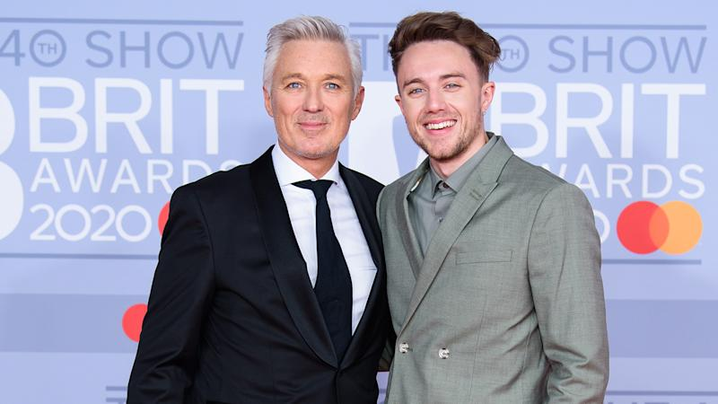 Roman and Martin Kemp had the honour of being the last people ever to play on Arsenal's pitch at Highbury (Getty Images)