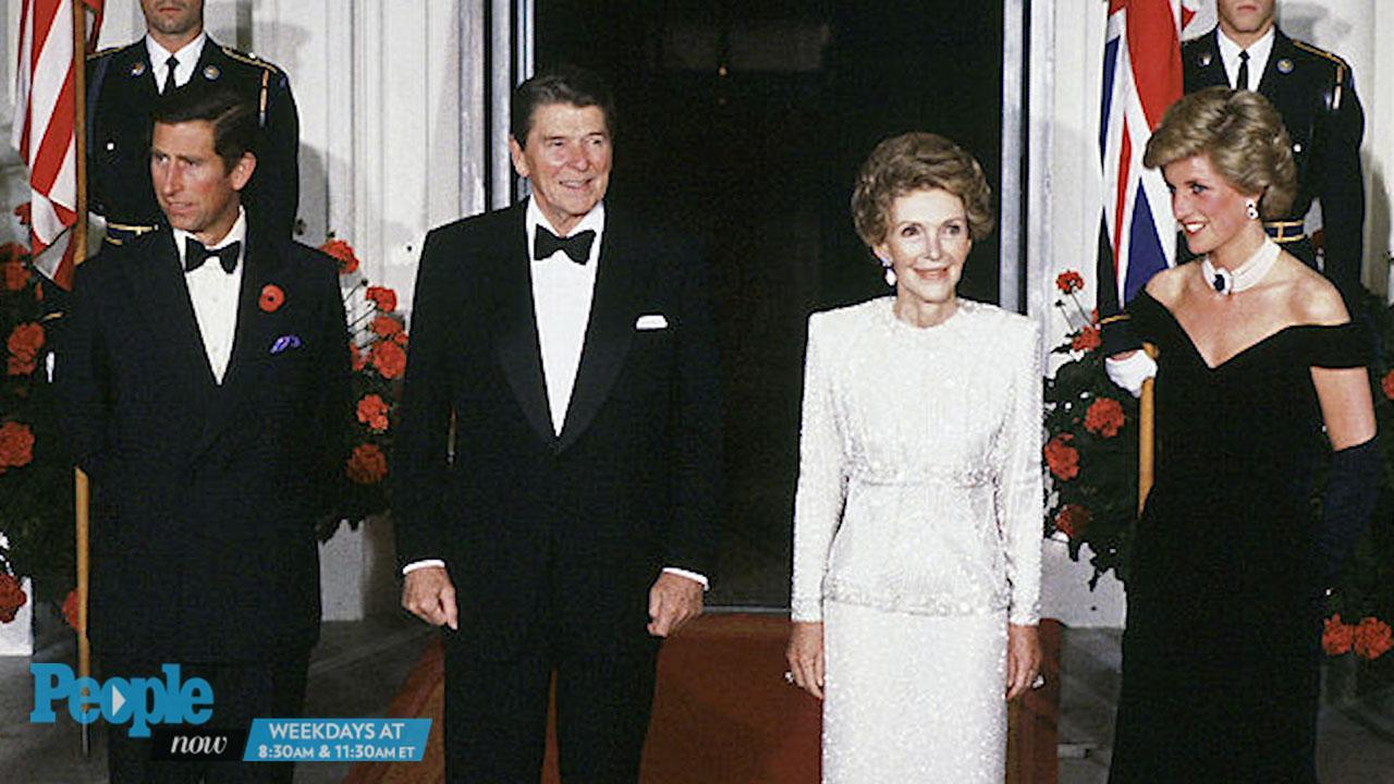 The royal and the former First Lady met during a his visit to the White House in May 1981