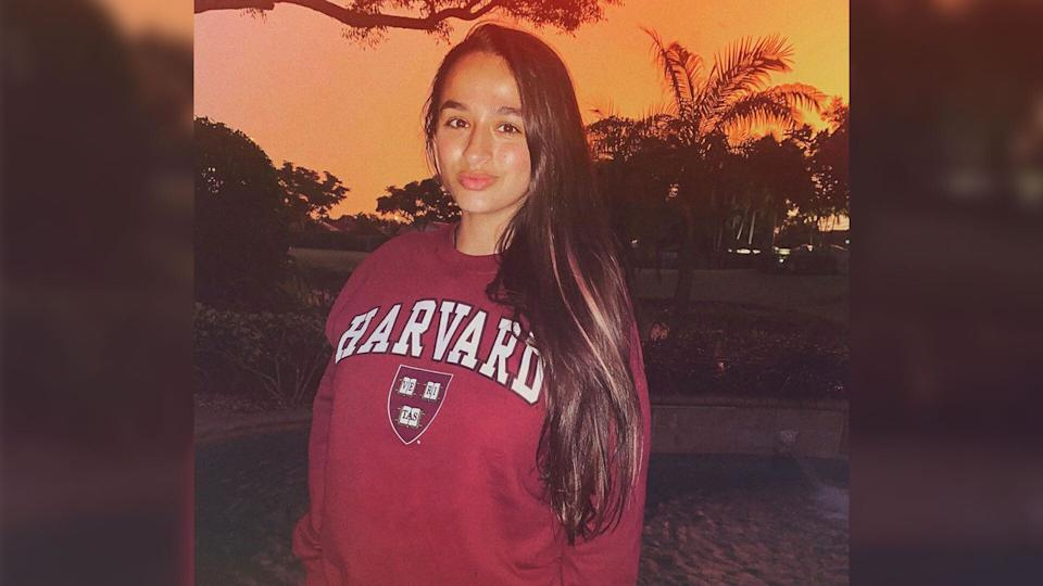 Jazz Jennings announced her decision to attend Harvard Tuesday. (Credit: Instagram)