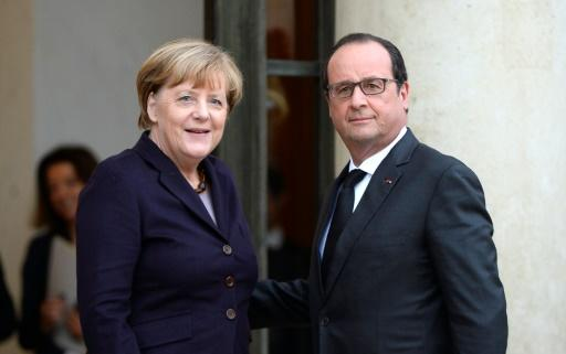 Merkel und Hollande Ende Oktober in Paris
