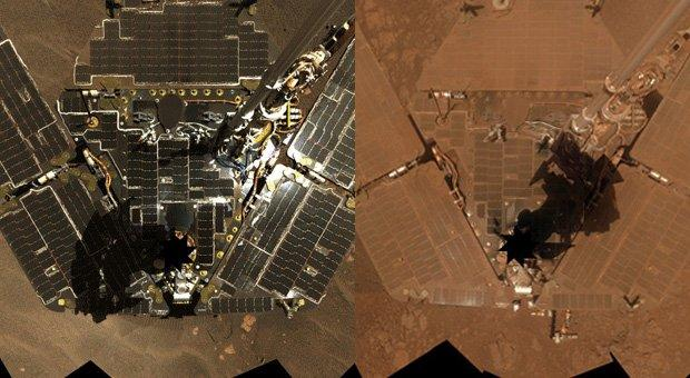 opportunity rover solar panels