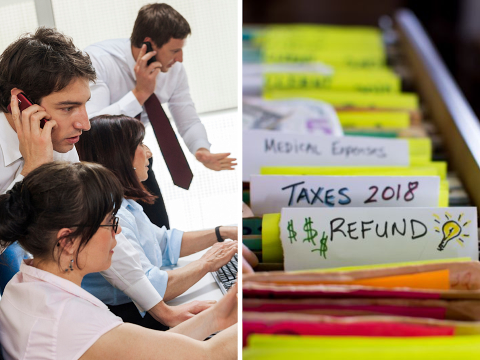 The ATO is fielding a major influx of calls about tax. (Source: Getty)