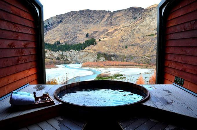 The best way to relax those skiing muscles. Photo: Onsen Hot Pools