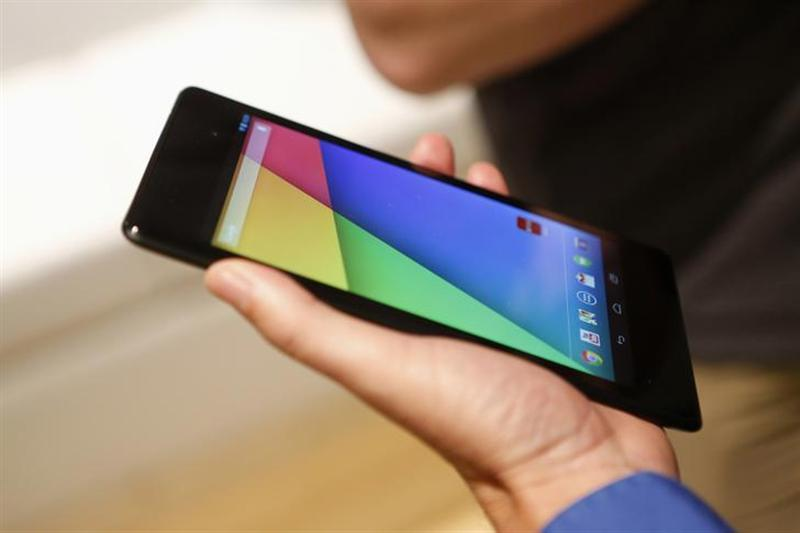 The new Nexus 7 tablet is demonstrated during a Google event at Dogpatch Studio in San Francisco