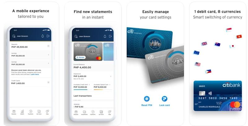 mobile banking apps - citi mobile app