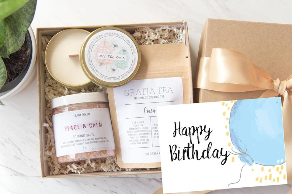 Happy Birthday Spa Gift Set