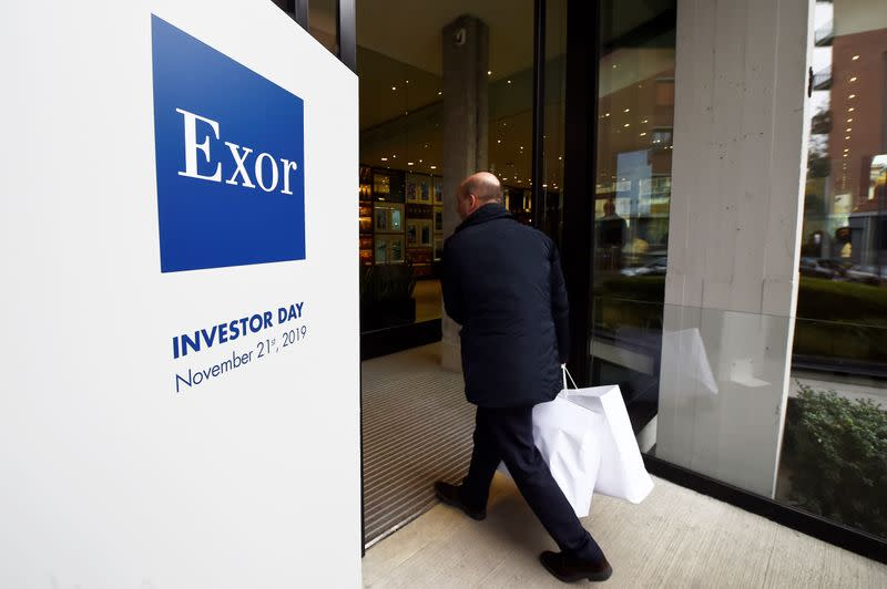 Italy's Exor in talks over $9 billion sale of PartnerRe to France's Covea