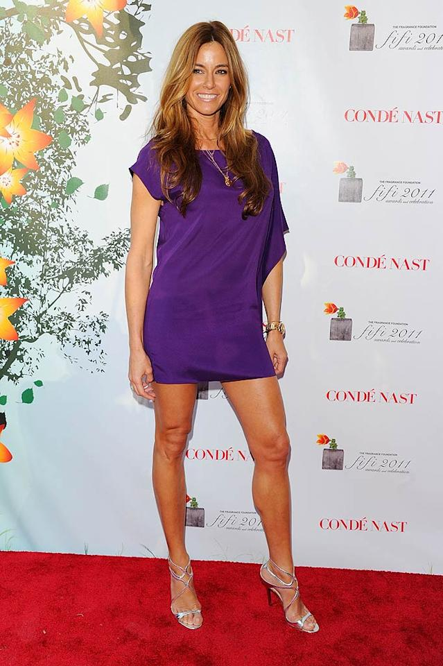 """""""The Real Housewives of New York City"""" co-star Kelly Bensimon was thrilled to serve as a presenter. """"Thank you @fifiawards for having me present. I was so flattered,"""" she tweeted later. """"Congrats @maryjblige and @fergie."""" Andrew H. Walker/<a href=""""http://www.gettyimages.com/"""" target=""""new"""">GettyImages.com</a> - May 25, 2011"""