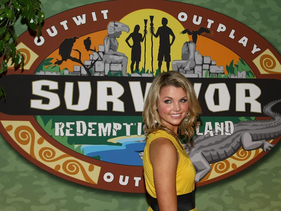 Andrea Boehlke attends the 'Survivor: Redemption Island' finale and reunion show on 15 May 2011 in New York City (Neilson Barnard/Getty Images)