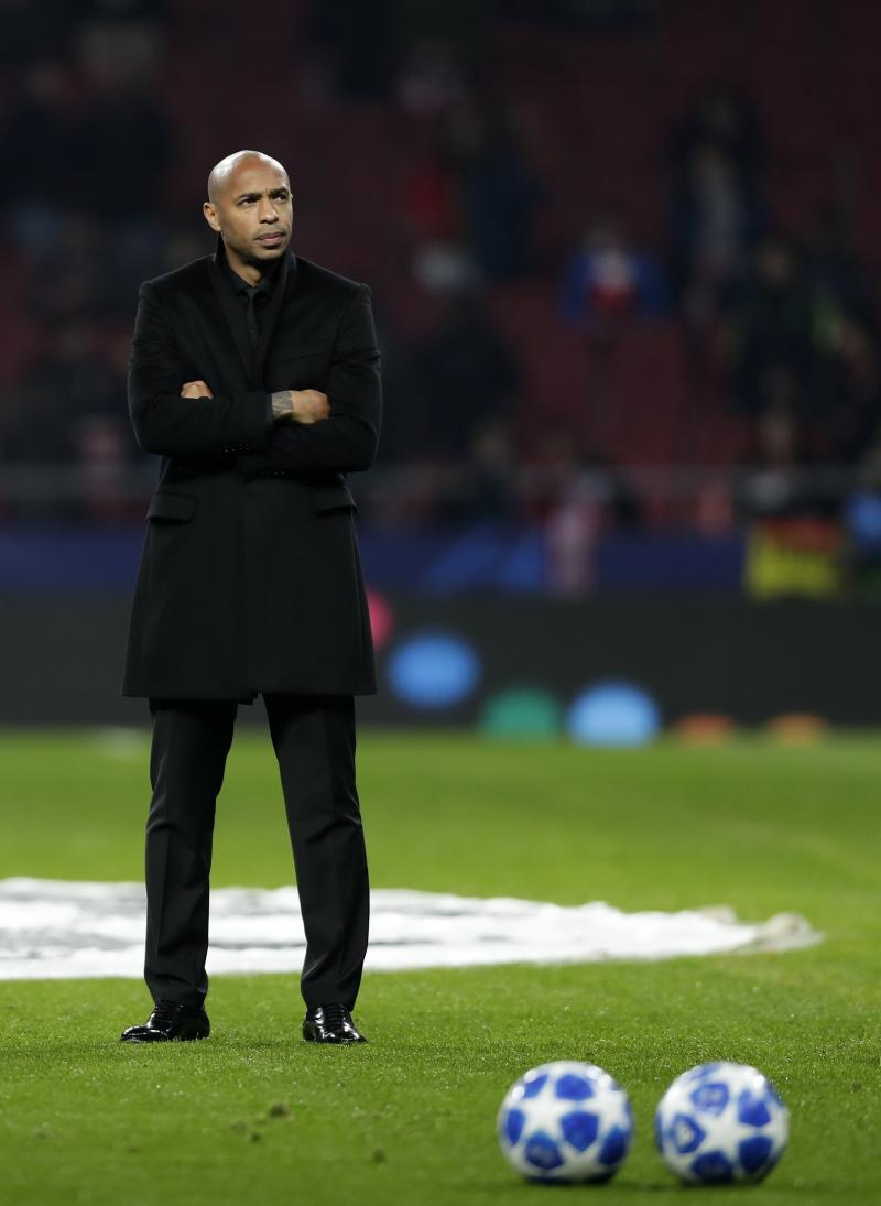 Monaco suspends coach Thierry Henry awaiting final decision