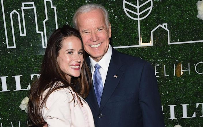 Ashley Biden was active in her father's campaign for president - WIREIMAGE