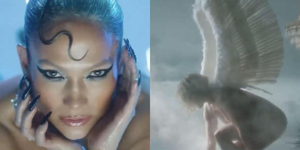Jennifer Lopez is a naked angel in the In the Morning