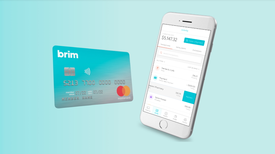 The credit card from Brim Financial makes some steep promises, and so far, no one has seen them come to fruition. (Yahoo Canada Finance/brimfinancial.com)