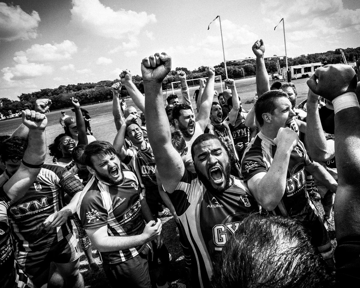 "<p>Boys Will Be Boys — The New York Gotham Knights players celebrate their Bingham Plate win over the London King's Cross Steelers on May 29, 2016, at the Ted Rhodes Park in Nashville, Tenn. New York edged London 14-12. The Gotham Knights were established in 2001, after Sept. 11, when Mark Bingham, the former gay rugby player after whom the cup is named, and New York Gotham Knights virtual founder, gave his life as a hero on board United Flight 93. Muddy York Rugby Football Club looks at the Gotham Knights as a true model in terms of player development, growth and inclusiveness. Gay athletes have somehow nearly always encountered resistance, controversy, discrimination and often humiliation in the sports community. Stereotypes have typically, and falsely, defined the performance of the athletes as well as their suitability to a specific discipline. Discomfort in the locker room pushed a few of Toronto's gay rugby players to form the city's first gay-friendly rugby team. Established in 2003, Muddy York RFC primarily competes against ""straight""' teams in the Toronto Rugby Union. The Muddy York team unconsciously started the process of describing and deconstructing the idea of performance within masculinity. (Photo: Giovanni Capriotti) </p>"
