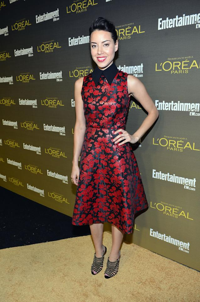 WEST HOLLYWOOD, CA - SEPTEMBER 21:  Actress Aubrey Plaza attends The 2012 Entertainment Weekly Pre-Emmy Party Presented By L'Oreal Paris at Fig & Olive Melrose Place on September 21, 2012 in West Hollywood, California.  (Photo by Alberto E. Rodriguez/Getty Images for Entertainment Weekly)