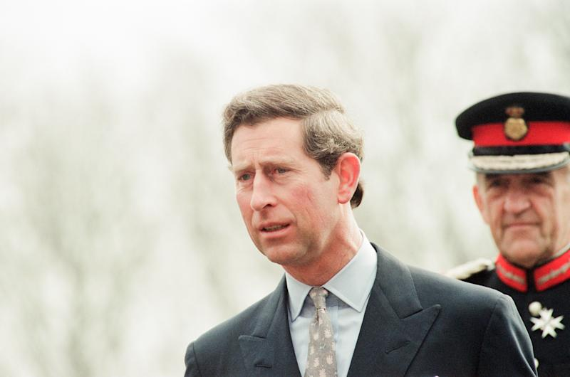 Prince Charles visits Rosecroft Secondary School, Loftus, Saltburn-by -the-Sea, Redcar And Cleveland, Wednesday 30th March 1994. (Photo by Teesside Archive/Mirrorpix/Getty Images)