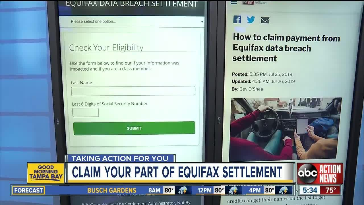 equifax claim form status  Check status of equifax claim. 😝 Equifax settlement ...
