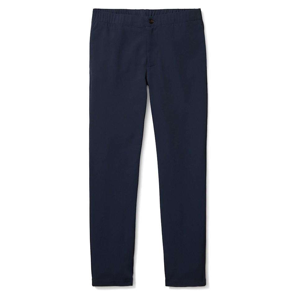 """<p><strong>Bonobos</strong></p><p>nordstrom.com</p><p><a href=""""https://go.redirectingat.com?id=74968X1596630&url=https%3A%2F%2Fwww.nordstrom.com%2Fs%2Fbonobos-slim-fit-performance-pants%2F5862666&sref=https%3A%2F%2Fwww.esquire.com%2Fstyle%2Fmens-fashion%2Fg37002225%2Fnordstrom-anniversary-sale-mens-fashion-deals-2021%2F"""" rel=""""nofollow noopener"""" target=""""_blank"""" data-ylk=""""slk:Shop Now"""" class=""""link rapid-noclick-resp"""">Shop Now</a></p><p><strong>Sale: $59.90</strong></p><p><strong>After Sale: $98.00</strong></p><p>Because the office will be a part of your day-to-day routine again soon enough (if it isn't already).</p>"""