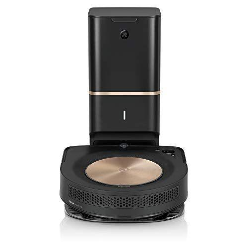 """<p><strong>iRobot</strong></p><p>amazon.com</p><p><strong>$899.00</strong></p><p><a href=""""https://www.amazon.com/dp/B07QXM2V6X?tag=syn-yahoo-20&ascsubtag=%5Bartid%7C10055.g.1833%5Bsrc%7Cyahoo-us"""" rel=""""nofollow noopener"""" target=""""_blank"""" data-ylk=""""slk:Shop Now"""" class=""""link rapid-noclick-resp"""">Shop Now</a></p><p>In our Cleaning Lab tests,<strong> the 9+ picked up 99% of the uncooked oatmeal, sand, baking soda and small nuts and screws we spread on hard floors.</strong> It can map and remember multiple rooms and floor plans and it beat all other <a href=""""https://www.goodhousekeeping.com/appliances/vacuum-cleaner-reviews/a25227407/best-robot-vacuum/"""" rel=""""nofollow noopener"""" target=""""_blank"""" data-ylk=""""slk:robot vacuums"""" class=""""link rapid-noclick-resp"""">robot vacuums</a> for quickly and effectively spot cleaning a small area. It detects carpet automatically to ramp up suction only when needed, and its double rubber roller brushes won't clog with pet hair like bristles have a tendency to do. When it's finished cleaning, the vacuum returns to its charging base and dirt is automatically transferred into a large-capacity bag for mess-free disposal: it seals completely before you toss to keep dust and dirt contained.</p>"""