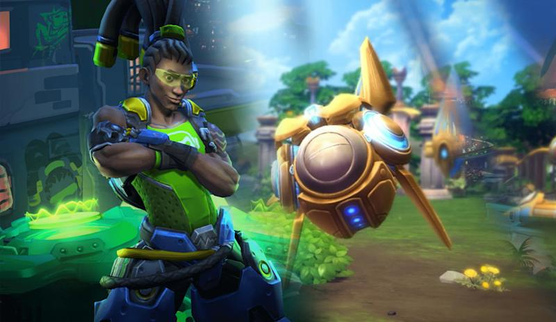 overwatch lucio and starcraft probius on heroes of the storm