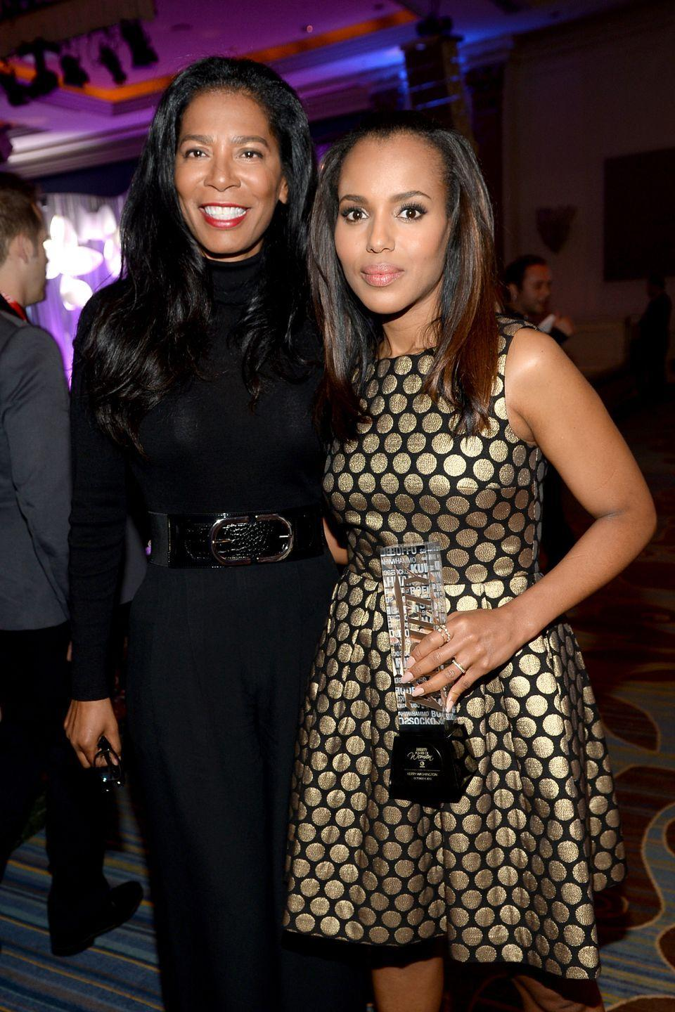 <p>Kerry Washington portrayed Judy Smith on the hit TV show <em>Scandal,</em> who was the real-life inspiration for Washington's character Olivia Pope. </p>