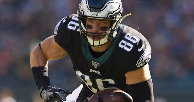 Report: Zach Ertz among three Eagles players in contract extension discussions