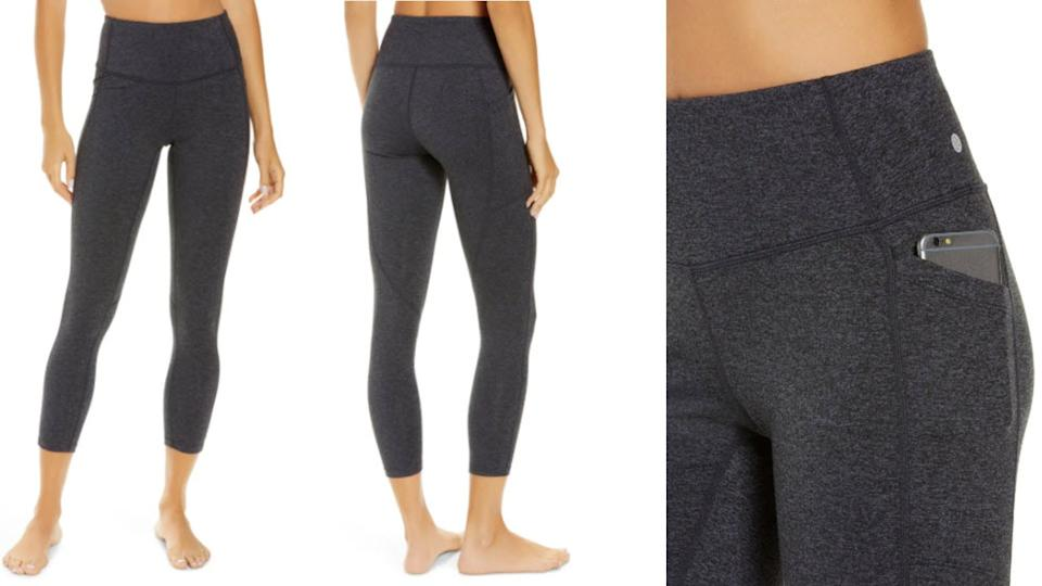 Zella Live In High Waist Pocket 7/8 Leggings - Nordstrom. $40 (originally $59)
