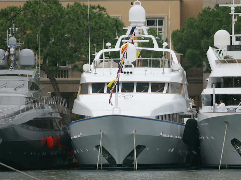 The Candy brothers' original Candyscape yacht, sold for a reported £11 million