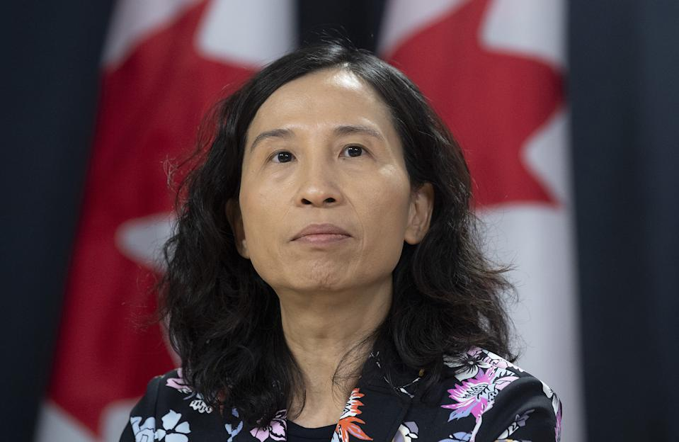 Canadas Chief Public Health Officer Theresa Tam is encouraging young Canadians to take all measures possible to prevent COVID-19.  (THE CANADIAN PRESS/Adrian Wyld)