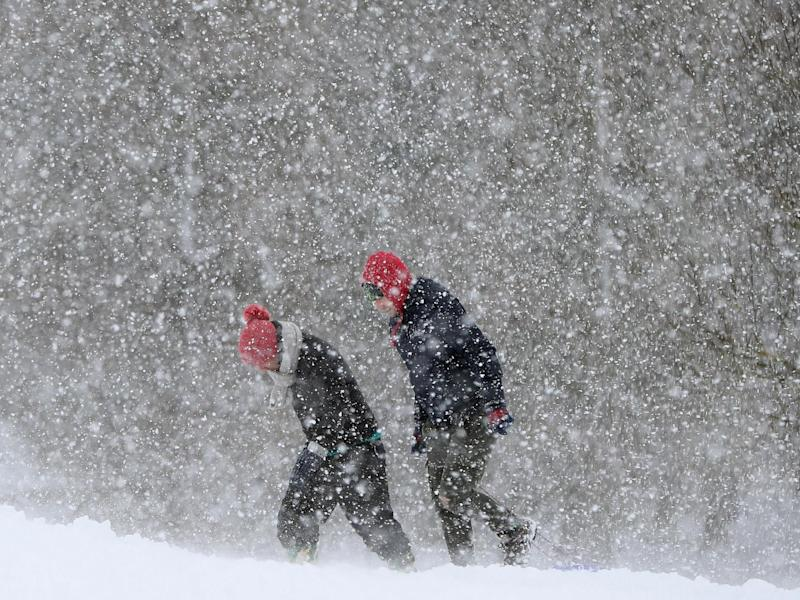 Last year's Beast from the East caused mayhem across the UK: PA